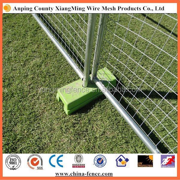 Concrete Block Moldes Fence Base Buy Fence Base Temporary