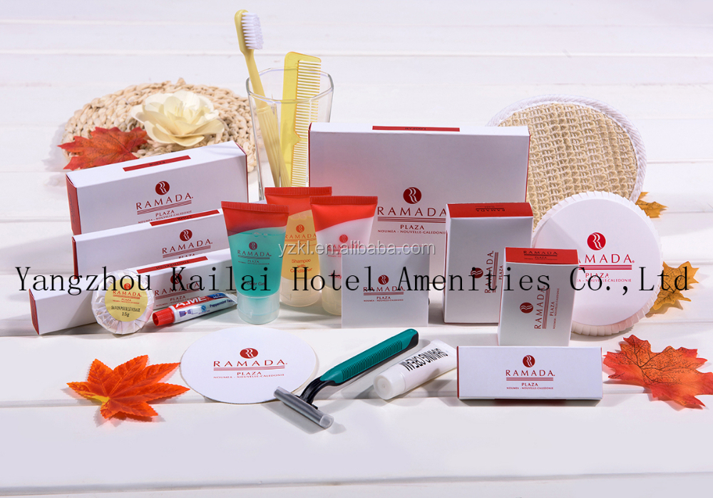 All Articles Disposable Toiletry Hotel Amenity Kit/paper package including various hotel amenity products