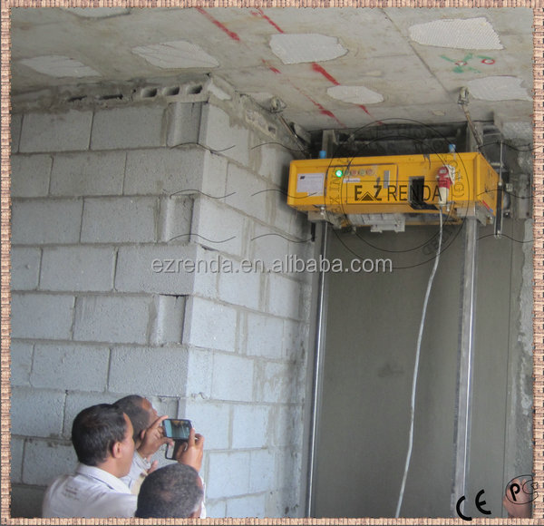 India Wall Plastering Machine Design Used Cement Mortar On Construction