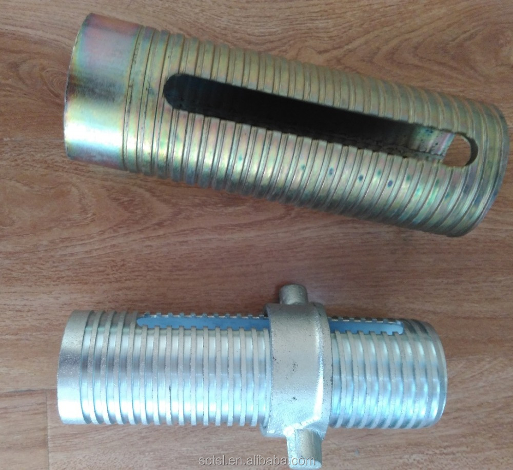 Shoring Prop Accessories OD60mm Prop Sleeve in Galvanized