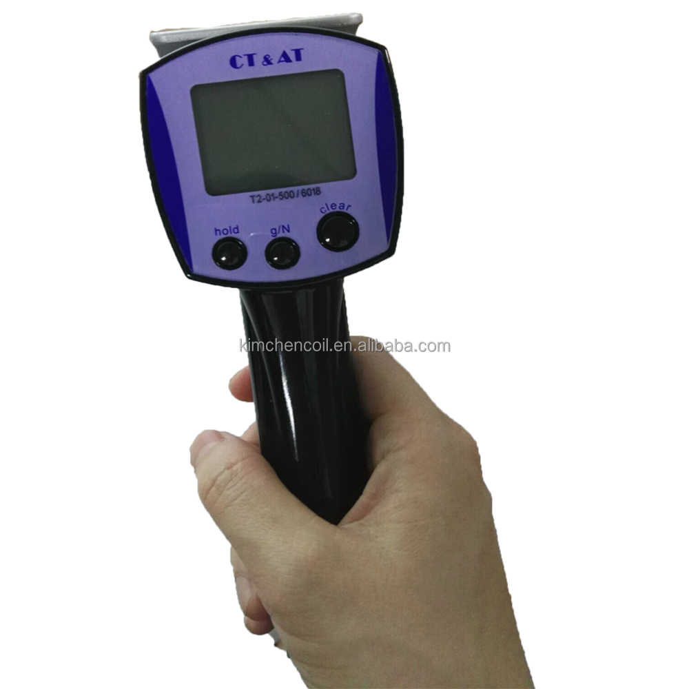 Electronic Digital Wire Rope Tension Meter Applied for Measuring Tension