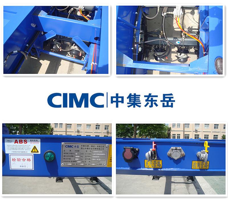 CIMC de alta calidad 40Ton carga refrigerada Semi remolque