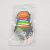 Colorful fashion silicone shoelaces lazy shoe lace for adults and kids