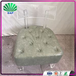 Soft Dining Chair Acrylic Kids Lounge Chair Low Dining Chairs for Sale