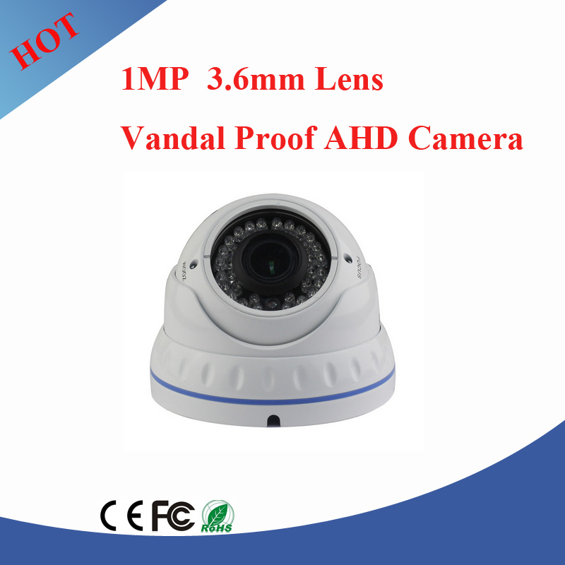New design 1MP HD AHD IR dome camera cctv camera worked with ahd dvr