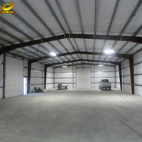 Metal frame storage building steel portable warehouse