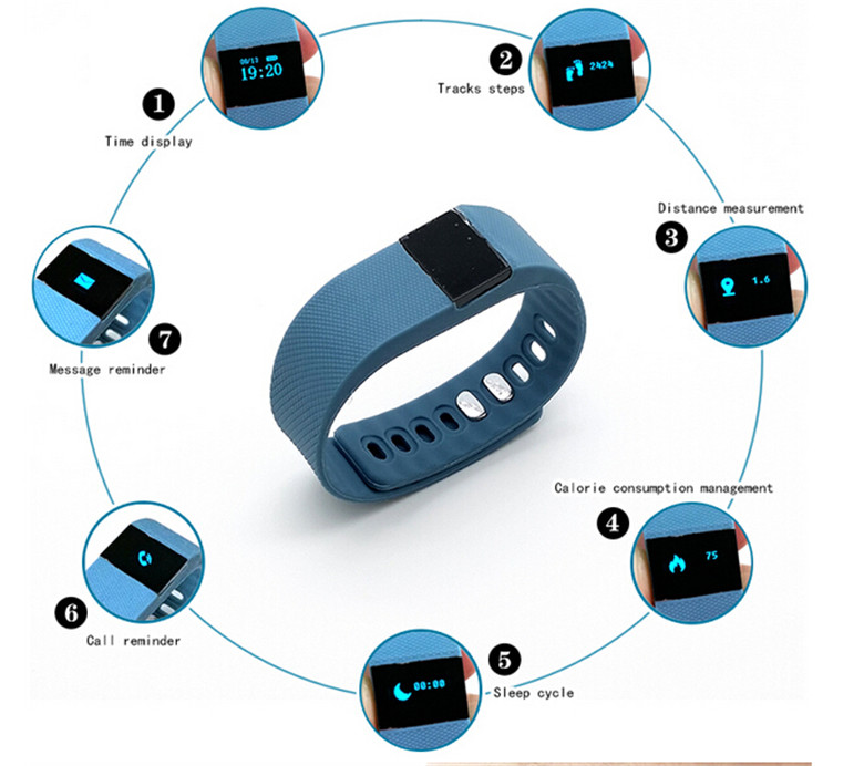 LICHIP oem hr extreme activity ip68 waterproof fitness tracker tw64 tw64s smart bracelet wristband wrist band watch