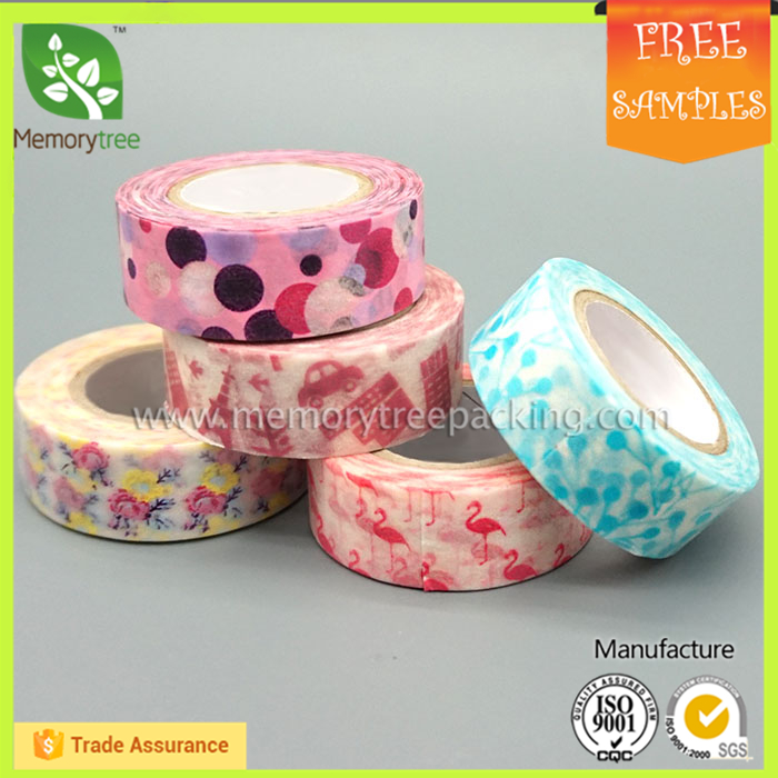 Wholesale Custom printed washi masking tape for kid book product