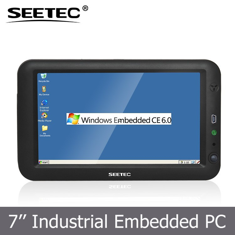 "Touch screen resistivo windows CE IOS CPU 667 MHZ 256 MB memory RS232 RS45 SD card USB port 7"" Taxi mobile data terminal"