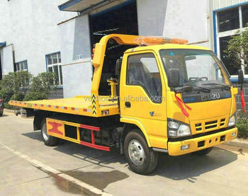 4X2 one tow two Road Wrecker Towing Truck