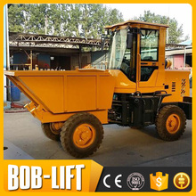Used Small Platform Structure and Four-wheel Wheel Dump Truck