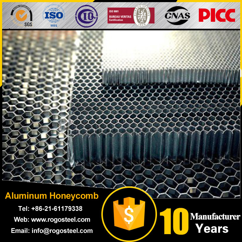 Aluminum foil thickness 0.08mm surplus aluminum honeycomb panels for side length 2mm