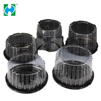 Clear Plastic Cupcake Muffin Case Domes Cup Cake Box