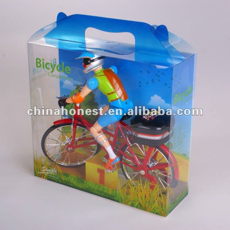 clear plastic printed clear vinyl folding boxe