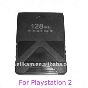 Game memory card for Sony playstation2 PS2 128MB memory card for PS2 memory card