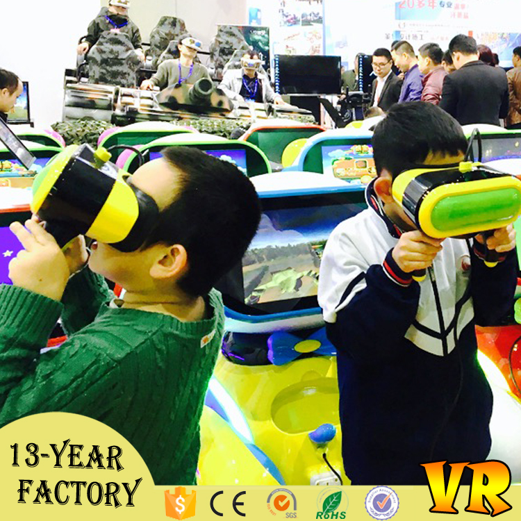 Gold hunter chilren vr educational machine investment 9d vr