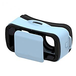 """Mini VR 3d glasses LEJI VR Virtual Reality Headset 3D Game Movie for 4.5"""" - 5.5"""" Smart Phone Compatible with Android & Apple Easy Setup"""