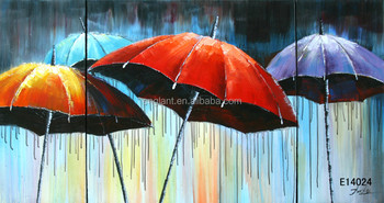 Moderne kunst gang decoratie paraplu schilderijen buy gang