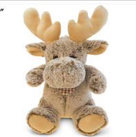 Super-Soft Plush - Sitting Moose christmas moose stuffed and plush toys christmas decorative deer