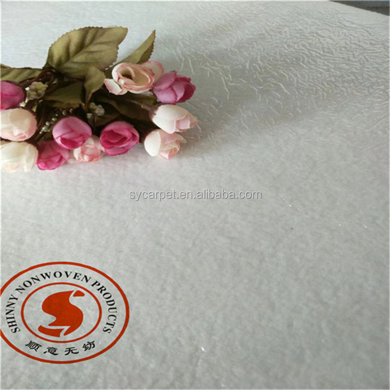 White nonwoven wedding aisle runner