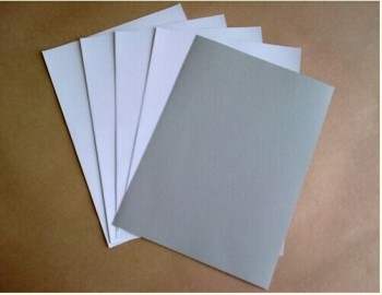 300gsm one side coated duplex carton board with grey back