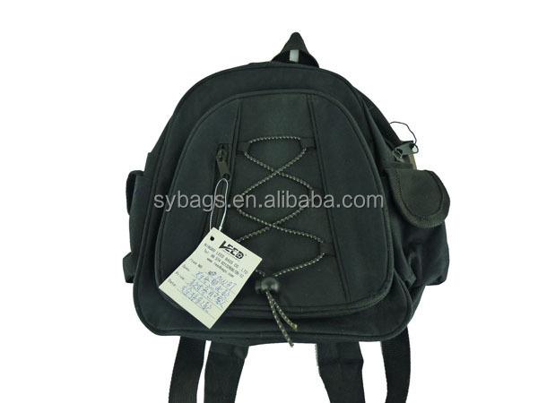 Small Black School Bag For Children / Book Bag For Kids / Best ...
