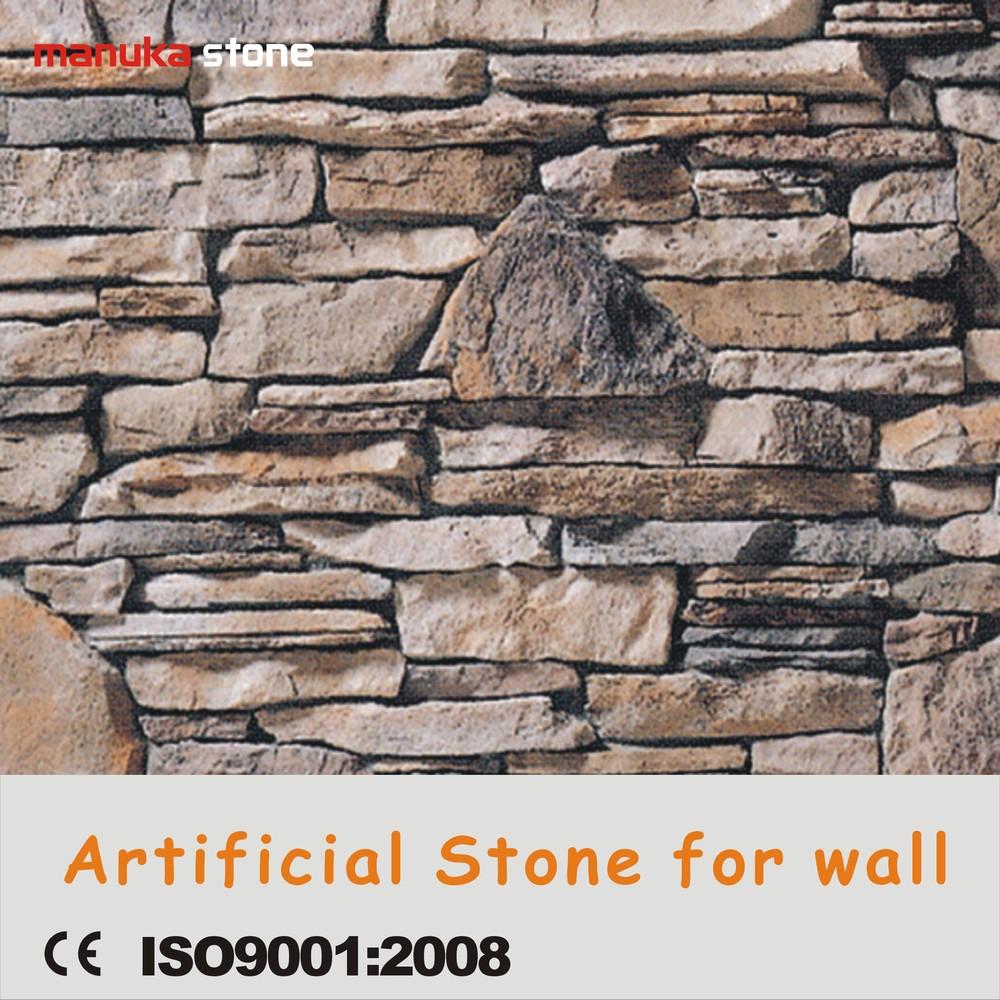 Prodotto pietra ricostruita muro, pietra pannello colto ...