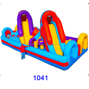 inflatable obstacle course, inflatable water obstacles, inflatable floating obstacle