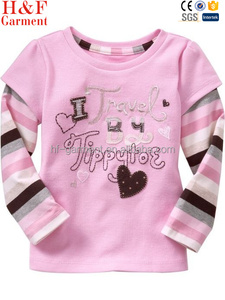 Name brand Kidswear made in China custom logo label