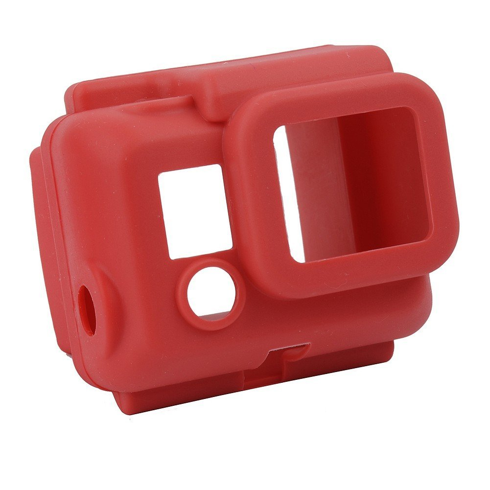 NEEWER® Red Dustproof Gel Silicone Cover Case for GoPro Hero 3 Camera