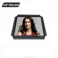 LCD Touch Screen for Embedded System Capacitive Touch Screen Open Frame LCD Monitor 12 inch Wall Mount