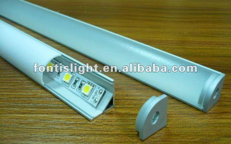 Profili In Alluminio Per Le Strisce Led/armadio Da Cucina/vetrina ...