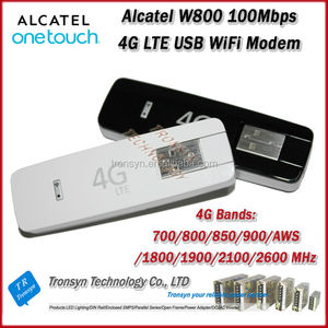 New Arrival Original Unlock LTE FDD 100Mbps Alcatel W800 4G LTE WiFi Pocket  Modem