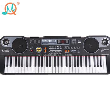 36c8829754702 61 teclas juguetes electrónicos Teclado de piano instrumento musical para  niños