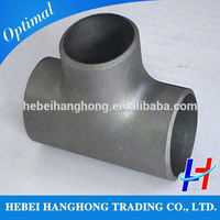 Trade Assurance Supplier carbon steel gas compression pipe fittings straight tee