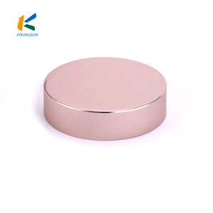 41/400 56/400 rose gold Screw Cap Embossed Aluminum Lids for jar