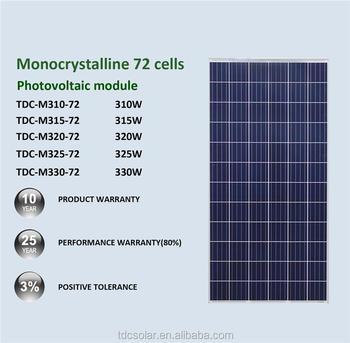 Hot Selling Tata Bp Solar Products 12v 300w Photovoltaic Panels - Buy 310w  Solar Panel Solar,310 W Solar Panel,310 W Solar Panel Solar Product on