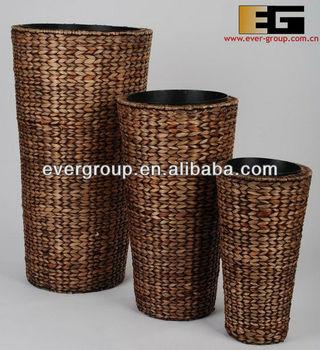 round-shape-water-hyacinth-weaving-garden-planter.jpg_350x350 Zinc Planters Cheap on zinc trough planter, zinc finish, zinc planter trays,
