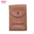 Personalized Suede Pouch Bag Organizer Bag Travel Case Watch Pouch With Snap Closure