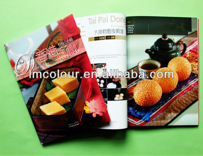Food Magazine for Lifestyle Printing