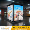 Wall mounted LED light frame aluminum fabric board fabric led light box aluminium frame material menu signs