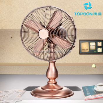 Retro Desk Style Electronics Cooling Fan With Ce Cb Gs Rohs