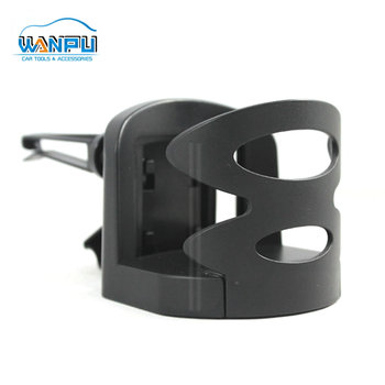 black Plastic car air vent mount multi function drink holder Removable Car Bottle Cup Water Holder car drink holder