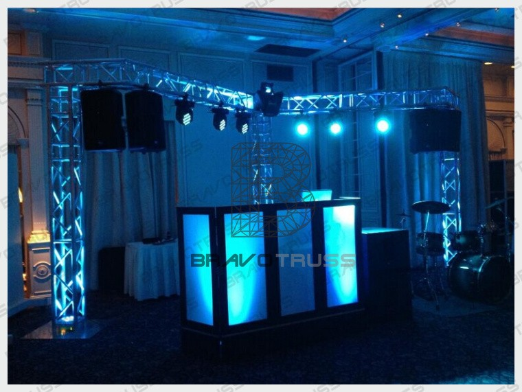 Afghan Dress Small Stage Lighting Truss Portable Backdrop Stands Equipment Dj