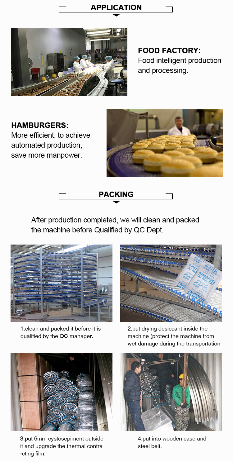 automatic bake hamburger production line/bread making machinery