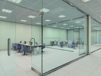 Tempered Partition Glass