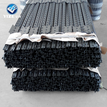 Alibaba China Supply Hot Sale Galvanized Fence 6ft T Post For Sale