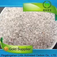 Artificial stone raw material of white quartz glass sand