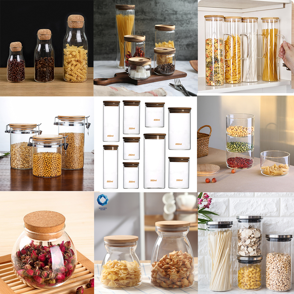 Image result for glass pantry jars collage