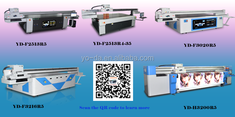 Shenzhen Factory of uv flatbed printer for wood, glass, mdf printing machine